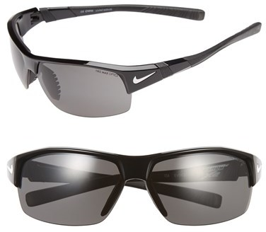 Nike 69mm 'Show X2' Semi Rimless Sunglasses