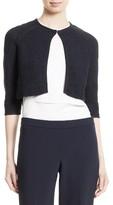 BOSS Women's Feya Textured Bolero Sweater