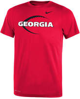 Nike Georgia Bulldogs Legend Icon Football T-Shirt, Big Boys (8-20)