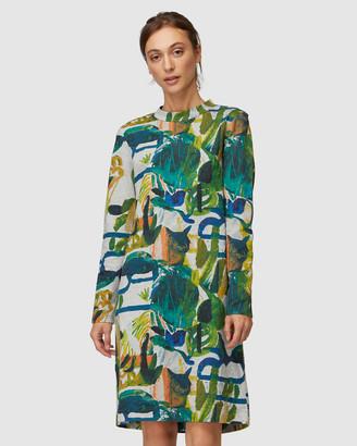 gorman Casa Verde Jersey Dress