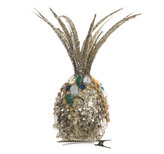 A by Amara - Glitter Decorative Pineapple on Clip - Small