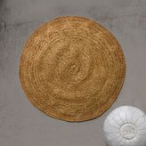 Graham and Green Laila Gold Round Jute Mat