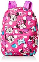 Disney Little Girls Minnie Mouse Print Backpack