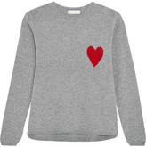 Chinti and Parker Intarsia Wool And Cashmere-blend Sweater - small