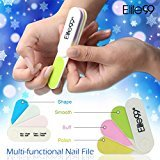Elite99 Multi-functional Polisher Nail Sanding File Buffer Buffing Manicure Tool