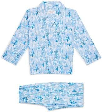 Derek Rose Coral Pyjama Set