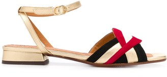 Chie Mihara Timai panelled sandals