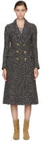Etoile Isabel Marant Grey Long Overton Coat