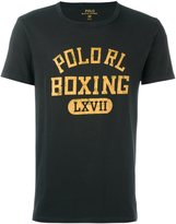 Polo Ralph Lauren lettering print T-shirt