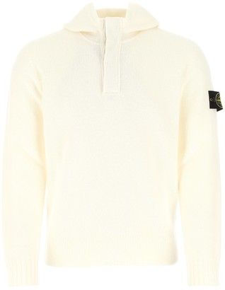 Stone Island Hooded Knitted Sweater