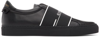 Givenchy Black Urban Street Elastic Sneakers
