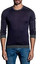 Jared Lang Contrast-Trim Sweater