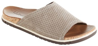 L.L. Bean Women's Eco Comfort Slides, Perforated Nubuck