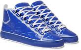 Balenciaga - Arena Leather High-top Sneakers