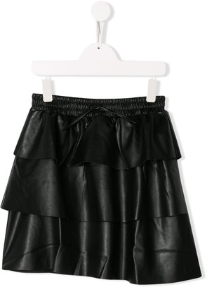 Karl Lagerfeld Paris TEEN tiered skirt
