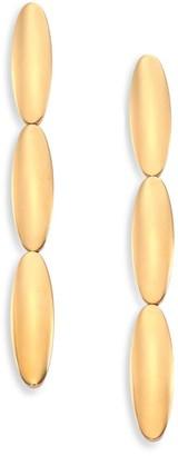 Vhernier Roulette 18K Rose Gold Drop Earrings