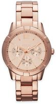 Relic Payton Ladies' 35mm Round Chronograph Multifunction Watch in Rose Goldtone Stainless Steel