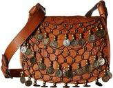 Patricia Nash Bertino Small Round Flap Saddle Bag