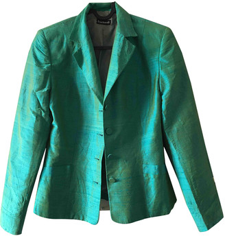 Cacharel Turquoise Silk Jackets