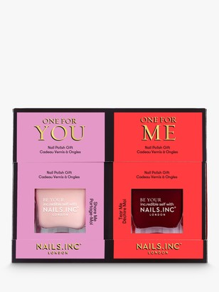 Nails Inc Share Love Nail Polish Duo, 2 x 14ml