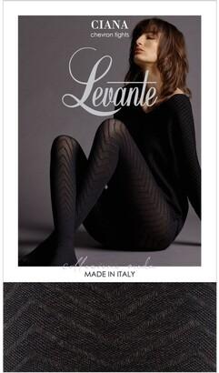Levante Ciana Winter Chevron Tight LEVCIACHT Black