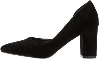 Monsoon Matilda Cut Out Court Shoe - Black