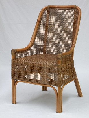 Ctr Imports Albury Chair Natural Olive Finish