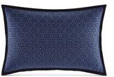 "Nautica Eldridge Embroidered Basketweave 12"" x 18"" Decorative Pillow"