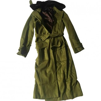 Ramosport Green Wool Coats