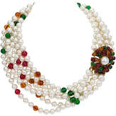 One Kings Lane Vintage 1970s Chanel Pearl & Gripoix Necklace