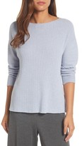 Eileen Fisher Women's Ribbed Cashmere Sweater