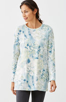 J. Jill Pure Jill Abstract-Floral Tunic