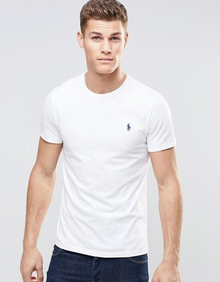 Polo Ralph Lauren t-shirt with crew neck in white