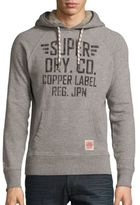 Superdry Heathered Cotton-Blend Pullover