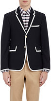 Thom Browne Men's Grosgrain-Trimmed Sportcoat-NAVY