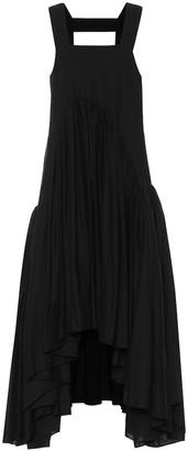 Loewe Paulas Ibiza linen-blend midi dress