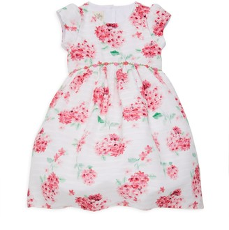 Laura Ashley Little Girl's Floral-Print Dress