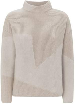 Lorena Antoniazzi Block Pattern Sweater