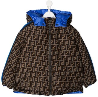 Fendi Kids Reversible Padded Jacket