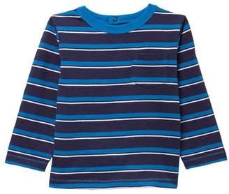 Joe Fresh Stripe Long Sleeve Top (Baby Boys)