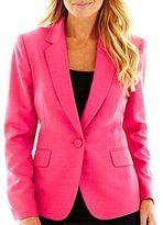 JCPenney 9 & Co.® Notch Collar Jacket