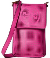 Tory Burch Logo Perforated Phone Crossbody