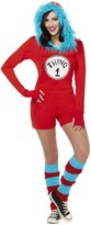Spirit Halloween Adult Thing 1 and Thing 2 Romper Costume - Dr. Seuss