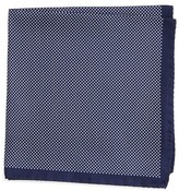 Eton Men's Dot Silk Pocket Square