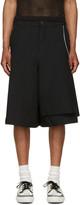 Comme des Garcons Black Side Zip Shorts