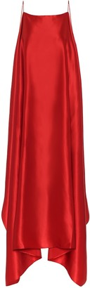 BERNADETTE Meredith silk-satin maxi dress