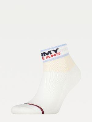 Tommy Hilfiger Mixed Texture Colour-Blocked Socks