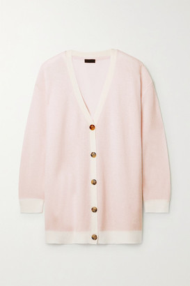 ATM Anthony Thomas Melillo Oversized Wool And Cashmere-blend Cardigan - Pink