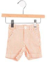 Il Gufo Boys' Pinstripe Bermuda Shorts