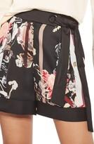 Topshop Women's Tokyo Floral Shorts